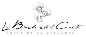 El logo de la Borda restaurant a la Cerdanya